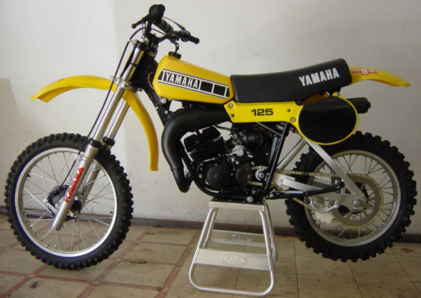 The YZ125F. My first bike I bought.
