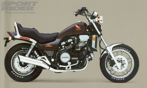 The Honda Magna V65, king of the hill in 1983.