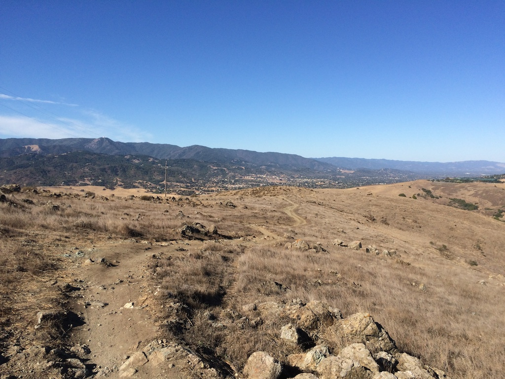 On Rocky Ridge trail