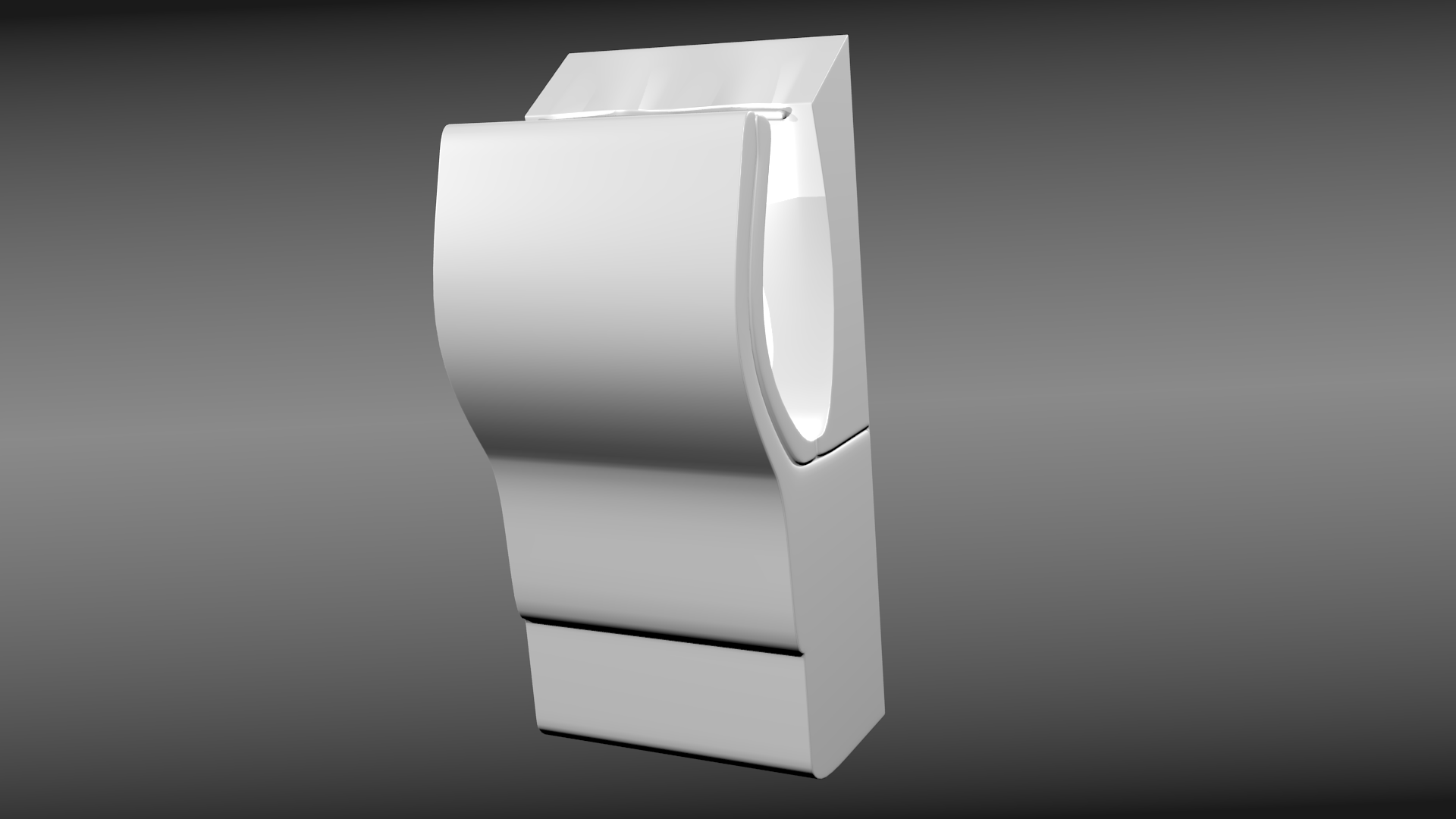 dyson airblade 3d model